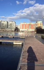 Beautiful apartment on the Grand Canal Dock - Dublin - Lejlighed