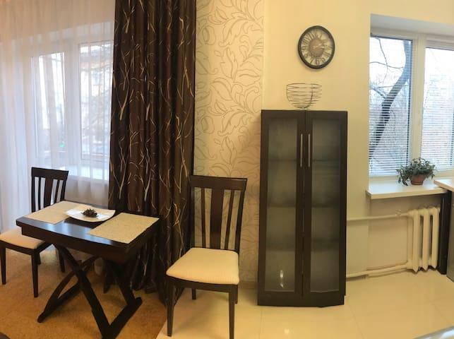 Уютная студия в тихом центре по улице Г. Полуботка