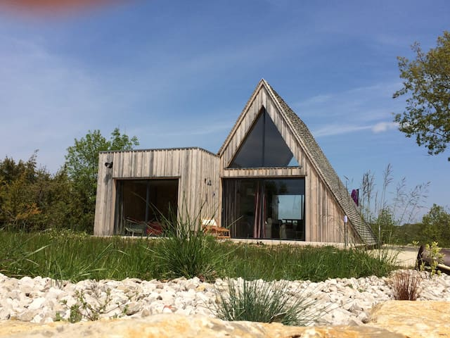 Trigone Wooden Lodge & shared pool, South France - Saint-Martin-Labouval - Ev