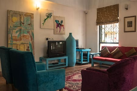 Cute 3 bedroom villa 300m from Baga beach
