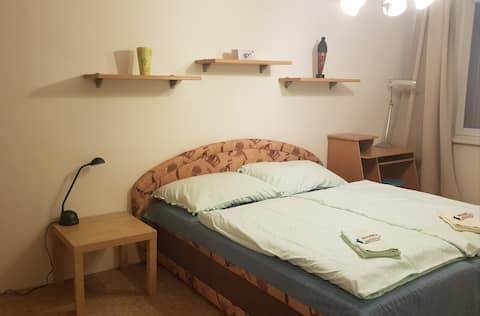 Private APT. Beroun Center. 20 km  drive to Prague