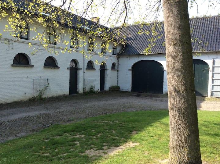 Logement bucolique dans parc privé
