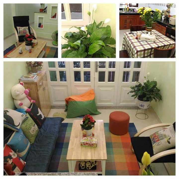 Cozy room in nice homestay house -Phu Nhuan-HCM