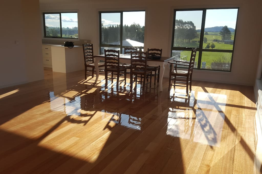 Fabulous Views from dining table