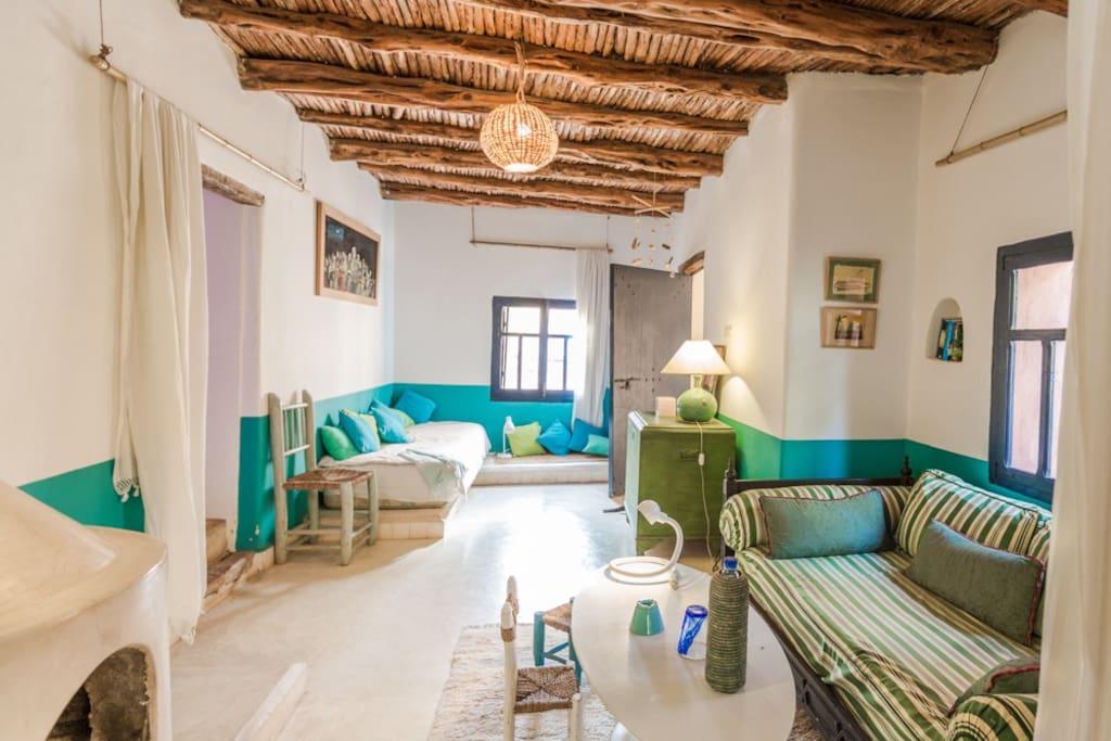 Riad Baoussala - Suite Bleue