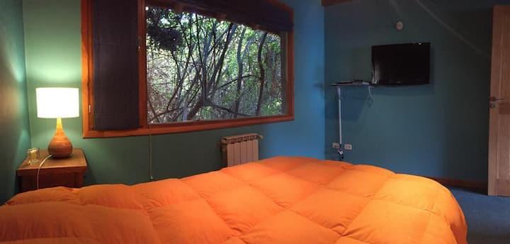 Casa con vista al lago Correntoso. Ideal familia.