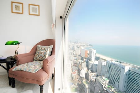 Romantic Sea View, beach 5 minute - Haeundae-gu - Apartment