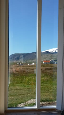 View from living room window.