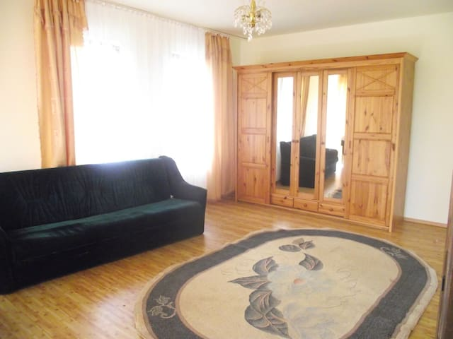 Accommodation for 6-8 persons in a quiet place