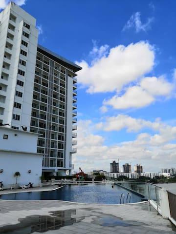Cosy Studio homestay (15A13) @ Bayu Marina Resorts