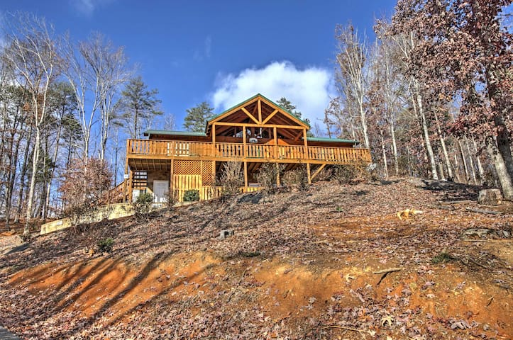 Private 3BR Near Gatlinburg and Pigeon Forge! - Cosby - Kabin