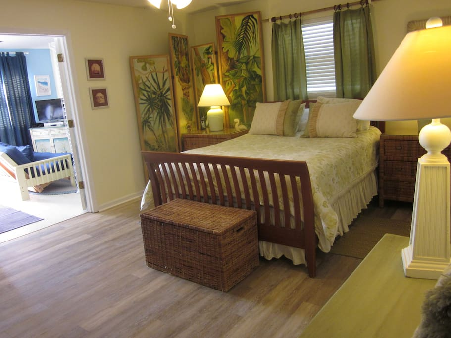 Large bedrooms allow for privacy.