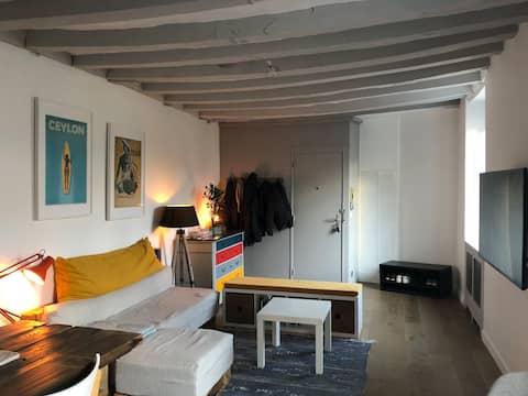 Appartement chaleureux & lumineux, centre-ville !
