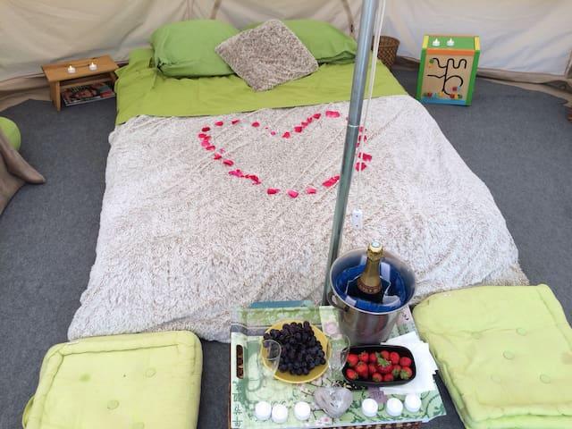 Le bonheur sous une tente .... - Hautot-Saint-Sulpice