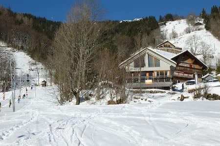 Toplage oberhalb des Skiliftes Klostermatte - Engelberg
