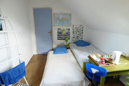 bedroom for english or german tourist - Semblançay