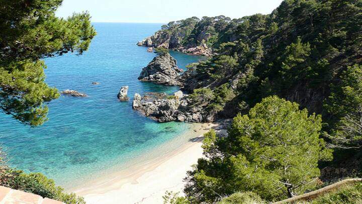 Appartment in Calella de Palafrugell 5min beach
