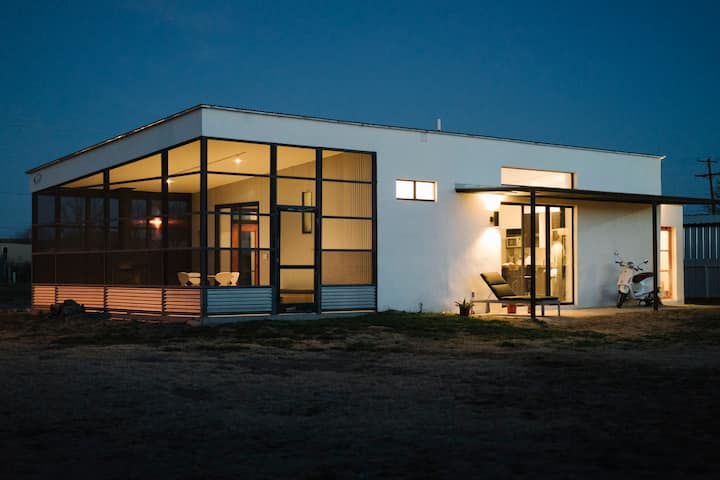 Modern + Minimal Marfa Home