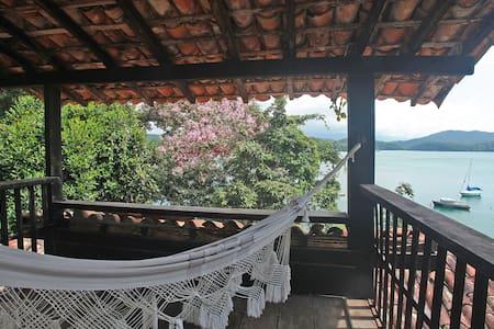 Casa rústica no costão de Parati Mirim - Paraty - Talo