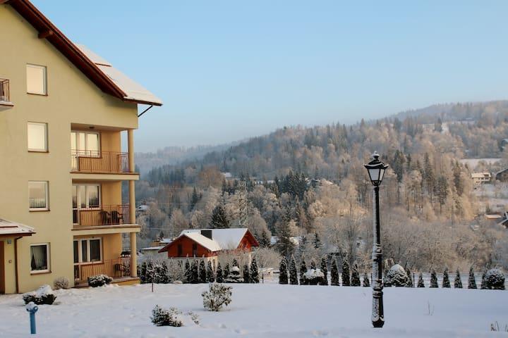 Przestronny apartament z widokiem na góry - Wisła - อพาร์ทเมนท์