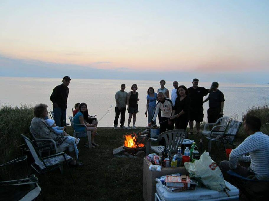 Enjoy sunsets with family and friends!