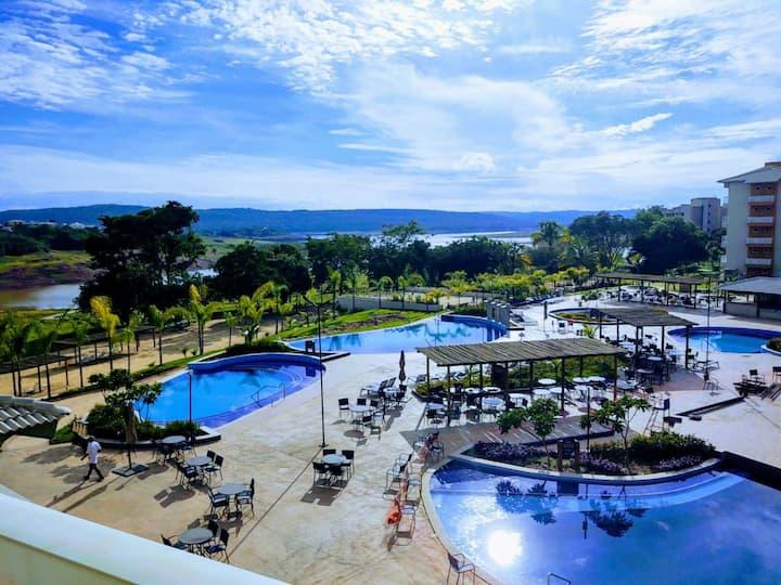 JANEIRO Ilhas do Lago, EcoResort-Apto amplo 1 Qto
