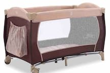 The crib size is 120*60cm, it's good for baby 0-4years old. Please inform me if you come with a baby that I can arrange this crib for you in the bedroom.