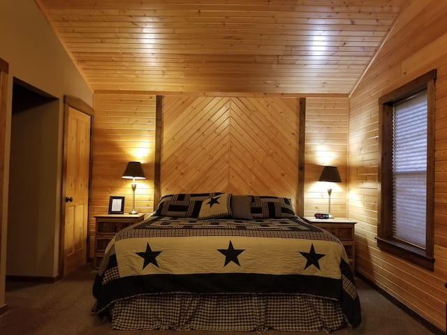 Plush King Size Bed