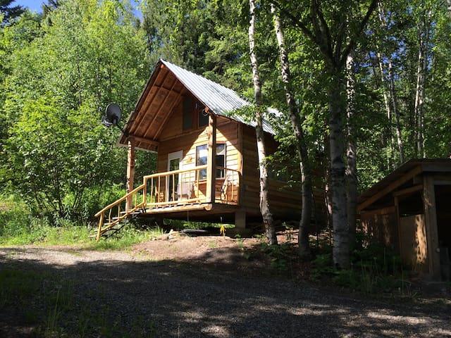 Cozy Rustic Cabin Retreat - Quesnel - Dağ Evi
