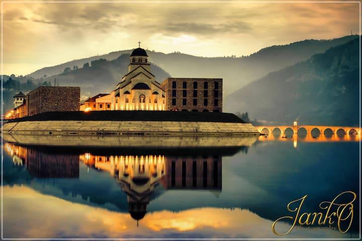 "Višegrad -apartments ""Bridge on the  Drina"""