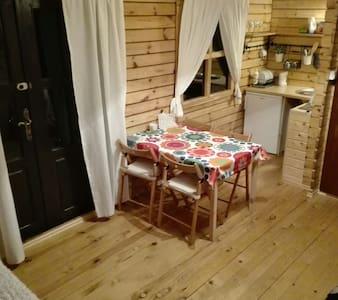Domek drewniany blisko Dębek - pucki - Bungalow