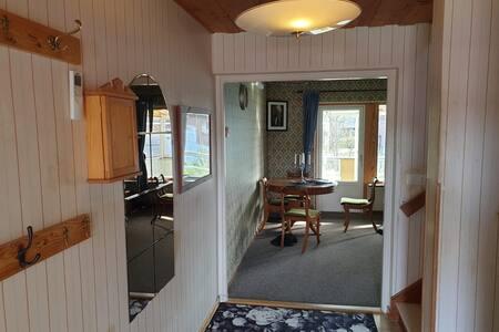Hus i centrala Skellefteå, nära till Northvolt.