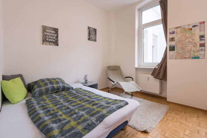 Bright private room in city center - Mannheim - Apartemen