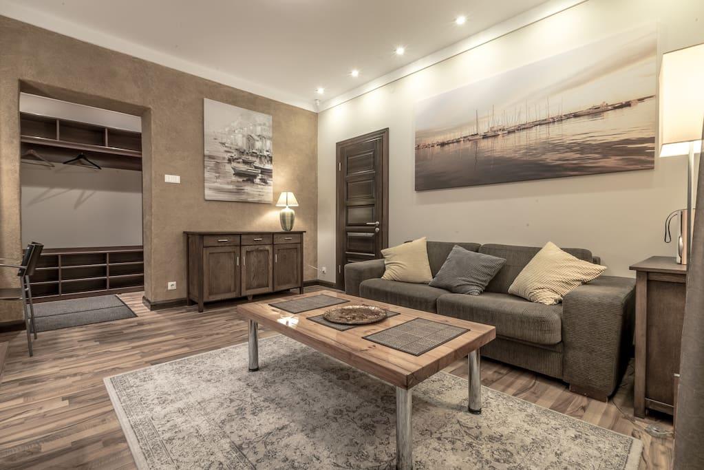 Romantic design apartment apartments for rent in riga for Design apartment riga