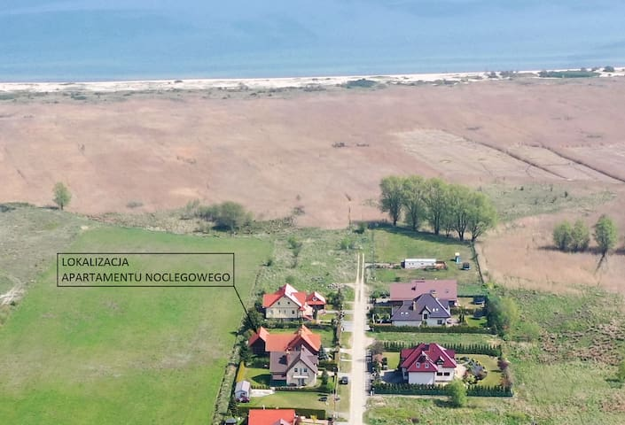 Rewa Mosty Apartament 400m do plaży CENA ZA DOMEK