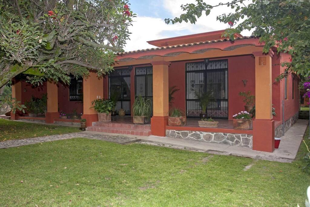 Front enterance to Hacienda de MarkO