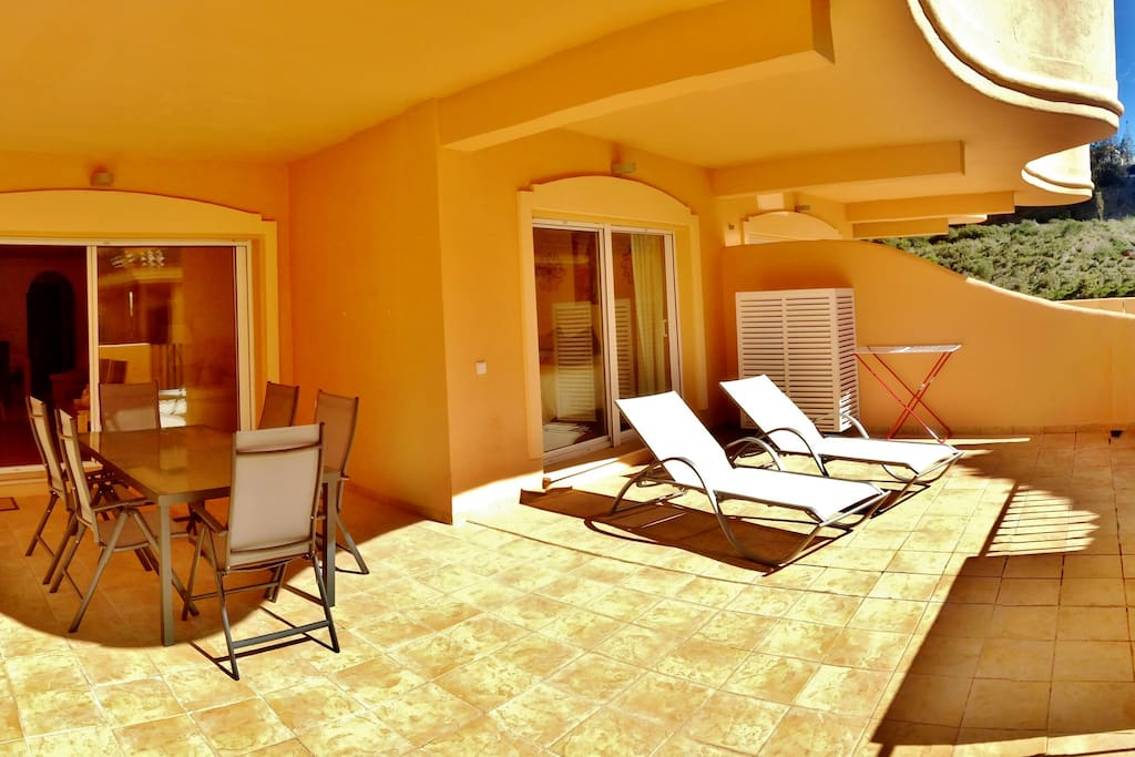 Large sunny terraces Apartment 1