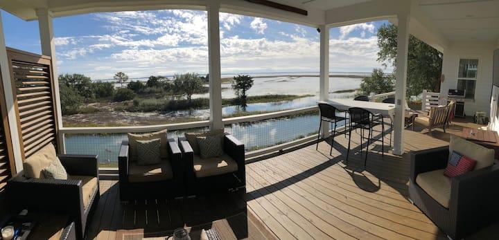 Mount Pleasant Waterfront Home - Charleston, SC