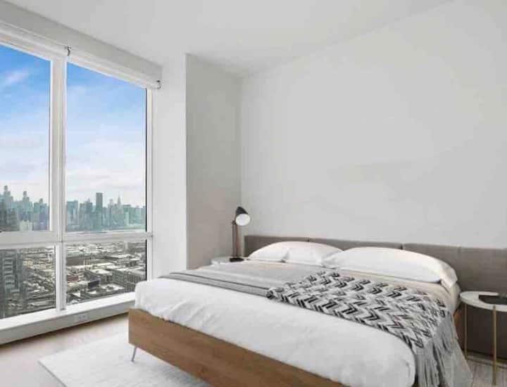 5 mins to Manhattan Amazing View Luxury King Room