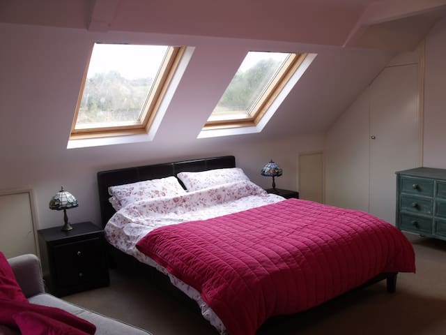 Private loft family room with en suite can sleep 3