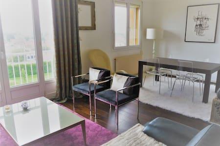 10 Min. Rouen Appartement 65 m2-2 chambres-parking - Le Petit-Quevilly - Lakás