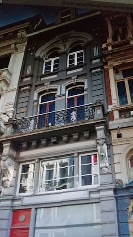 House with history in the city centre of Ghent - Gent - Talo