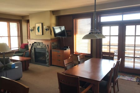Amazing 2 Bdrm Condo at the base of Squaw!