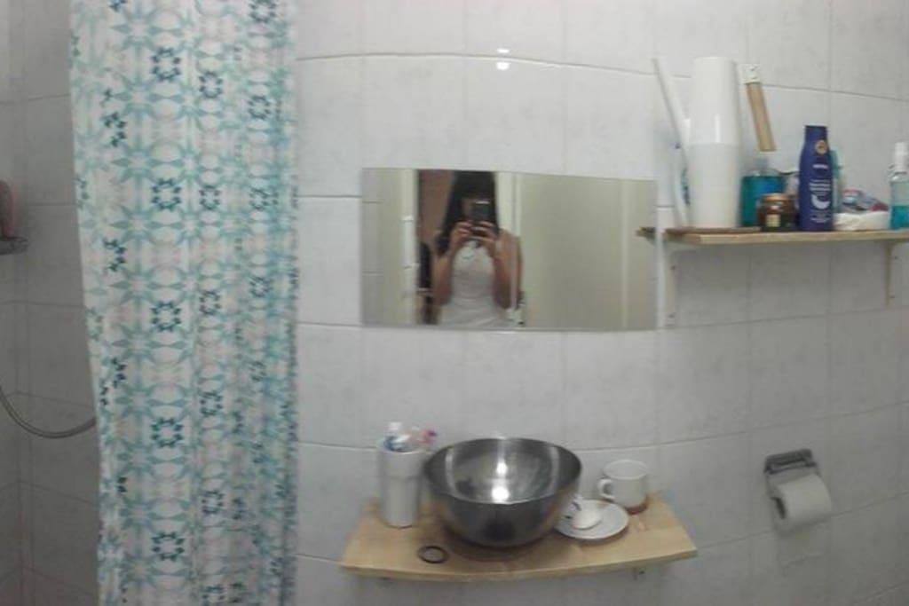whole bathroom