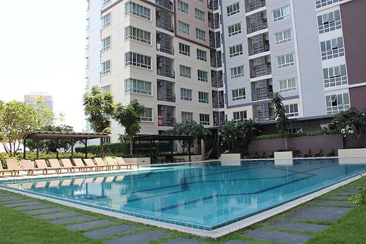 1 bedroom, 1 bathroom, fully furnished - Bangkok - Apartamento