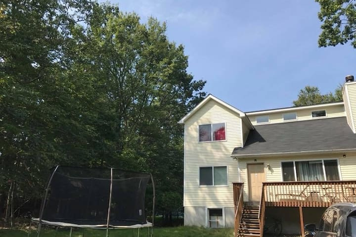 Pocono home family getaway weekends and holidays