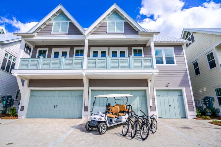 6-Seater Golf Cart,  Zero-Entry Pool, Beach and Hub! - Better Together at Prominence North 30A
