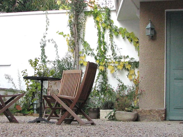 Independent house, balcony & private interior yard - Lyon - House