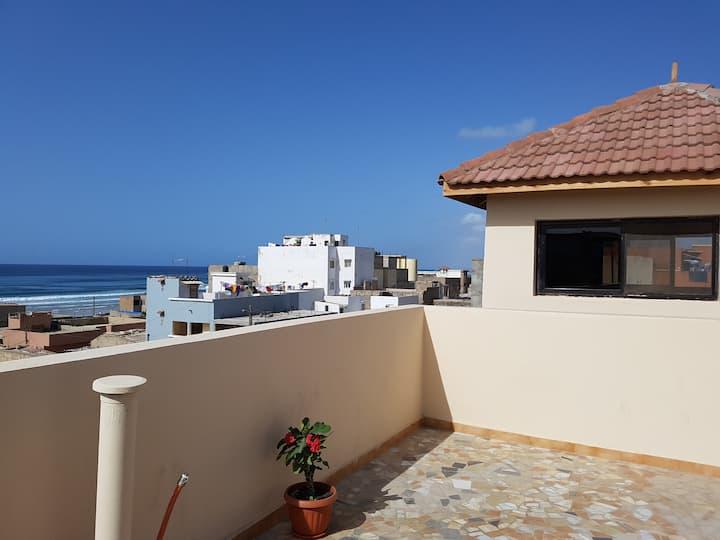 Appartement T2 avec vue sur mer