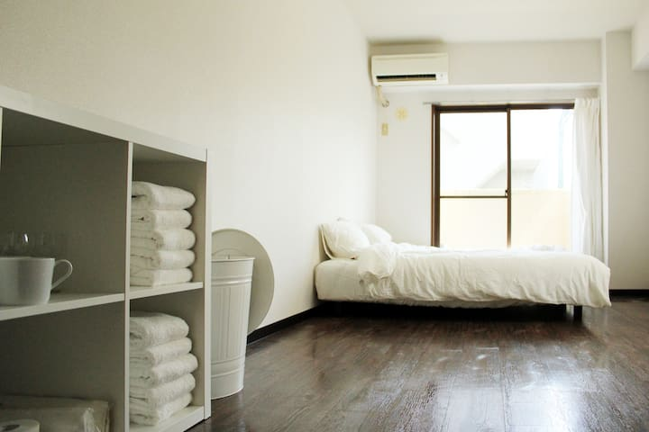 Cozy and clean room in Nakameguro - Meguro-ku